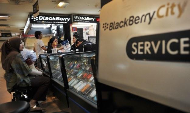 Smartfony RIM  z BlackBerry 10 pojawią się na początku przyszłego roku /AFP
