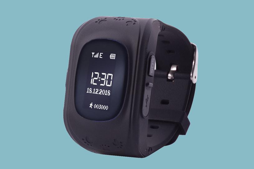 Smartwatch z lokalizatorem GPS /materiały prasowe