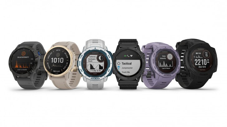 Smartwatche Garmin /materiały prasowe