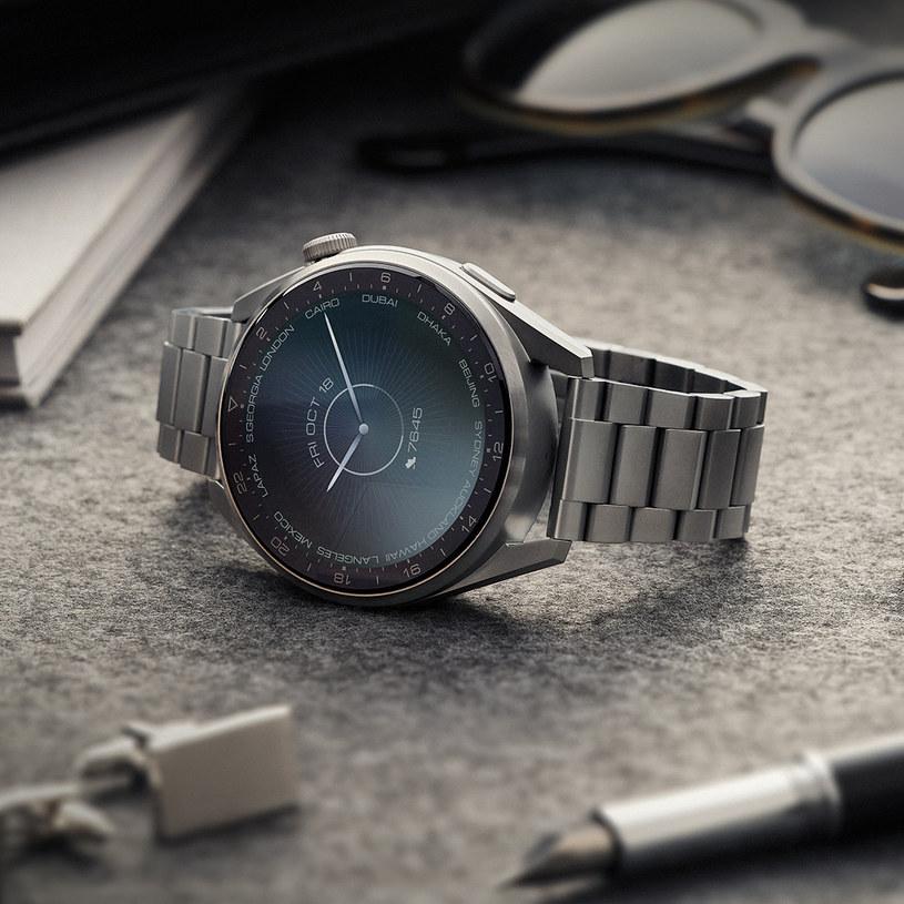 Smartwatche z serii Huawei Watch 3 posiadają wytrzymałą baterię /materiały prasowe