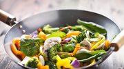 Smażenie warzyw jest zdrowsze niż ich gotowanie