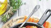Smażone klopsiki  z warzywami