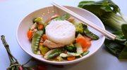 Smażone tajskie warzywa (Pad Ruam Mitr)