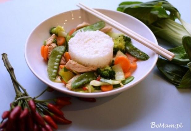 Smażone tajskie warzywa /BeMam
