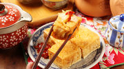 Smażone tofu z sosem chili