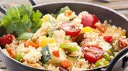 Smażone warzywa z kuskusem