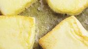 Smażony ser halloumi z sosem tzatziki