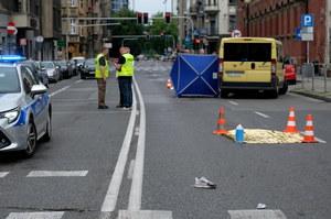 Śmierć 19-latki w Katowicach. Kierowca autobusu zatrzymany, policja widziała nagranie zdarzenia