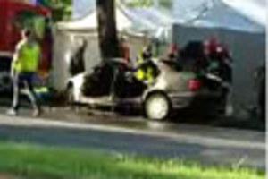 Śmierć 3 osób. Spalili się w BMW