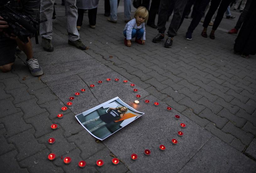Śmierć bułgarskiej dziennikarki wywołała poruszenie na całym świecie /VASSIL DONEV /PAP/EPA