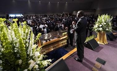 Śmierć George'a Floyda. Pogrzeb w Houston
