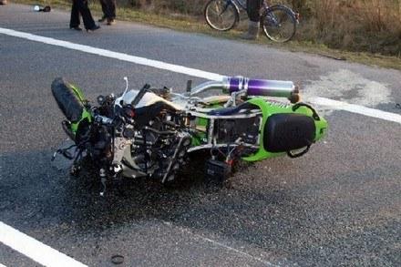 Śmierć jeździ motocyklem? /INTERIA.PL