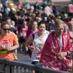 Śmierć na mecie maratonu w Londynie
