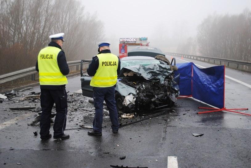 Śmierć trzech osób na obwodnicy Świecia /Policja