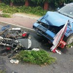 Śmiertelnie potrącił motorowerzystę. Był poszukiwany listem gończym