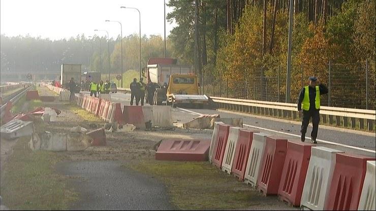 Śmiertelny wypadek na Podlasiu /Polsat News