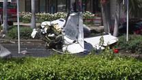 Śmiertelny wypadek w Kalifornii. Samolot spadł na parking