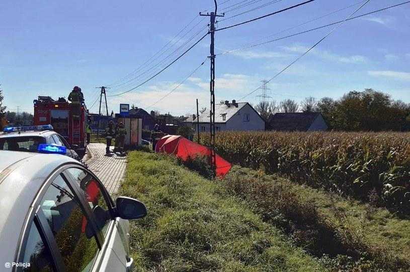 Śmiertelny wypadek w Małopolsce /Policja