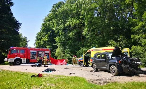 Śmiertelny wypadek w Okocimiu. Nie żyje motocyklista