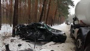 Śmiertelny wypadek w pobliżu Radomia. Nie żyje 21-latek