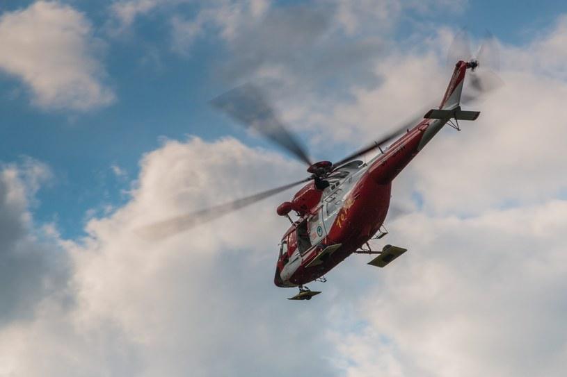 Śmiertelny wypadek w Tatrach /fot. Michal Ostaszewski /Reporter
