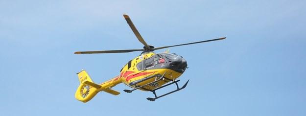 Śmigłowce LPR nie mogą lądować przy krakowskim szpitalu. Przez dźwig