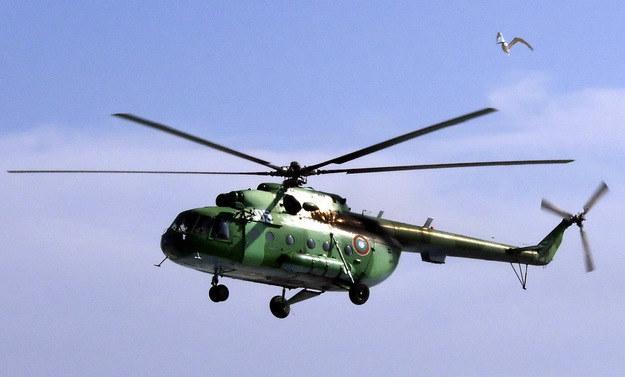 Śmigłowiec bojowy Mi-8 /AFP