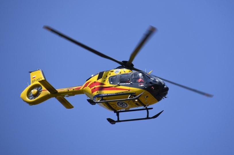Śmigłowiec Lotniczego Pogotowia Ratunkowego (zdjęcie ilustracyjne) /Albin Marciniak /East News