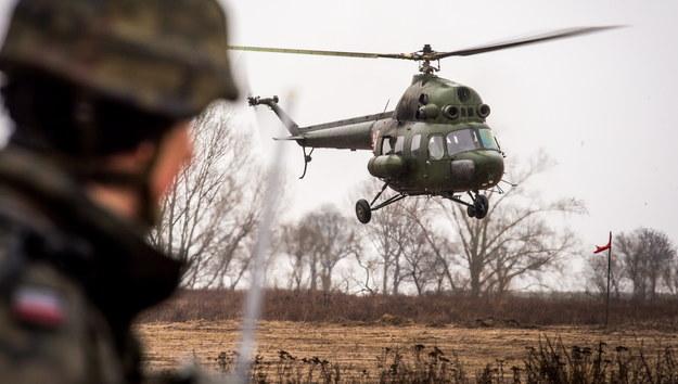 Śmigłowiec Mi-2 na zdjęciu ilustracyjnym /Tytus Żmijewski /PAP