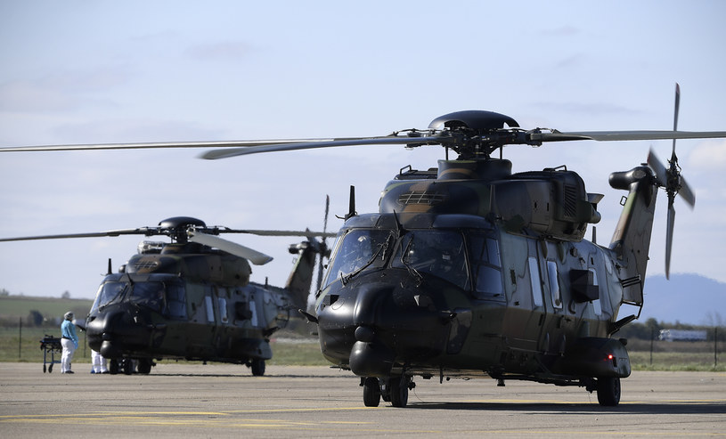 Śmigłowiec NH90, zdj. ilustracyjne /AFP