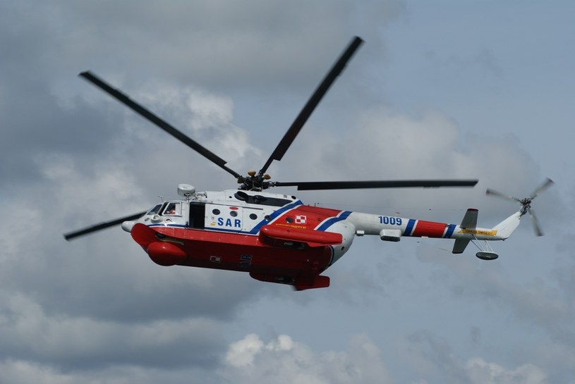 Śmigłowiec ratunkowy Mi-14 /East News