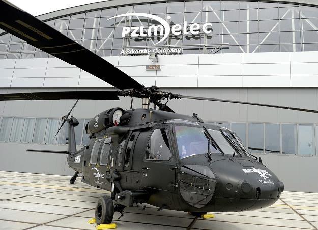 Śmigłowiec S-70i Black Hawk prezentowany w Polskich Zakładach Lotniczych w Mielcu /PAP