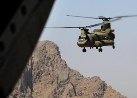 Śmigłowiec typu Chinook /AFP