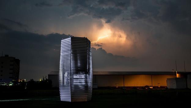 Smog Free Tower. Fot. Studio Daan Roosegaarde /Informacja prasowa