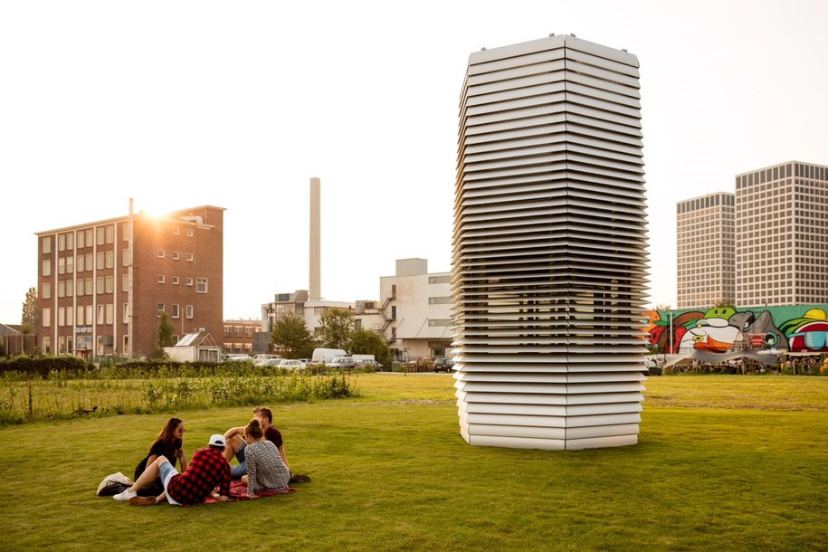 Smog Free Tower /Smog Free Project/Studio Roosegaarde /Materiały prasowe