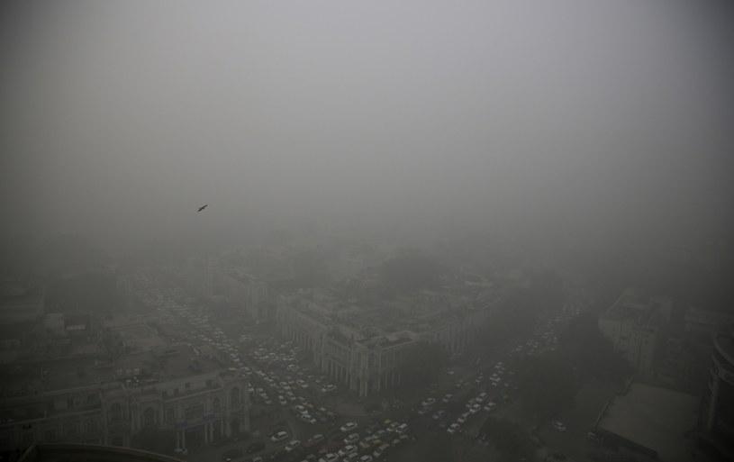 Smog nad Dehli, zdj. ilustracyjne /AP /East News