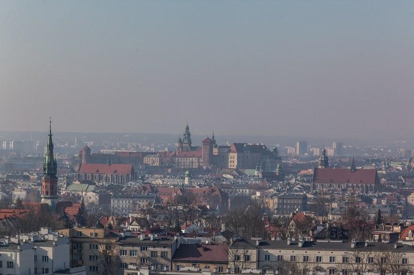 Smog nad Krakowem, zdjęcie ilustracyjne /Jan Graczyński /East News