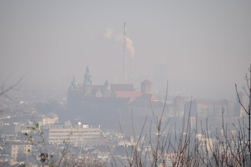 Smog nad Krakowem /Albin Marciniak /East News