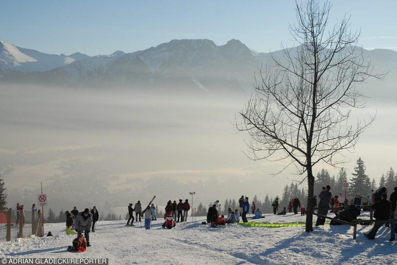 Smog nad Zakopanem, zdj. archiwalne /Adrian Gladecki/REPORTER /Reporter