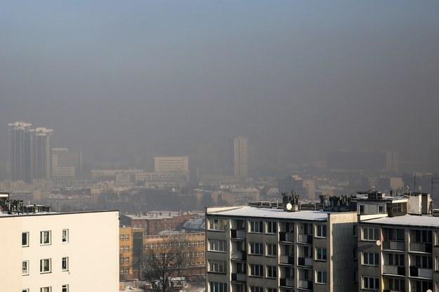 Smog w Katowicach. Wymyślony przez media i świat biznesu /Tomasz Kawka /East News