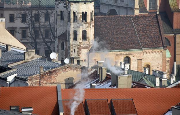 Smog w Krakowie, fot. Marek Lasyk /Reporter