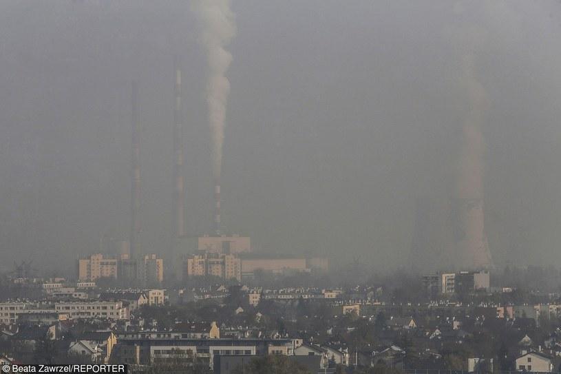 Smog w Krakowie /Beata Zawrzel /Reporter