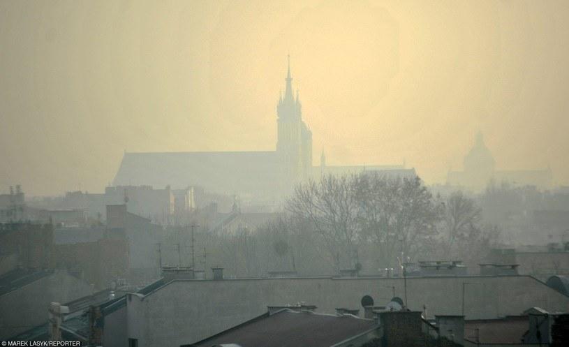 Smog w Krakowie /Marek Lasyk  /Reporter