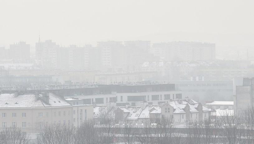 Smog w Krakowie /Jacek Bednarczyk /PAP