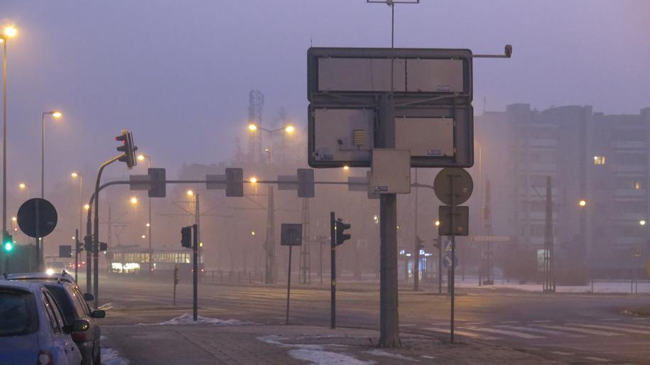 Smog w Krakowie /Paweł Pawłowski /Archiwum RMF FM