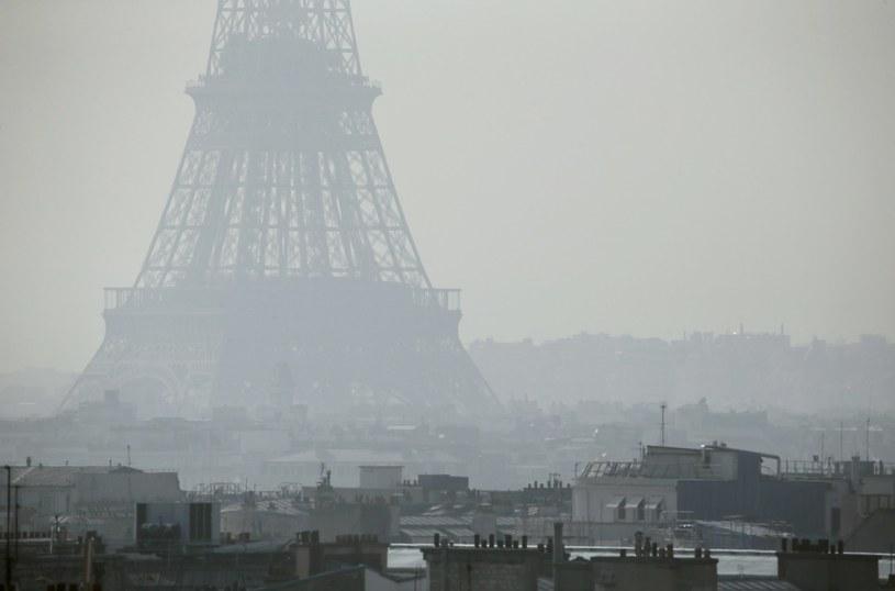 Smog w Paryżu / zdj. ilustracyjne /AFP