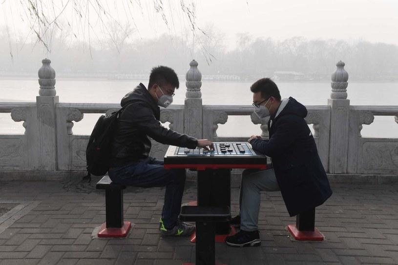 Smog w Pekinie /AFP