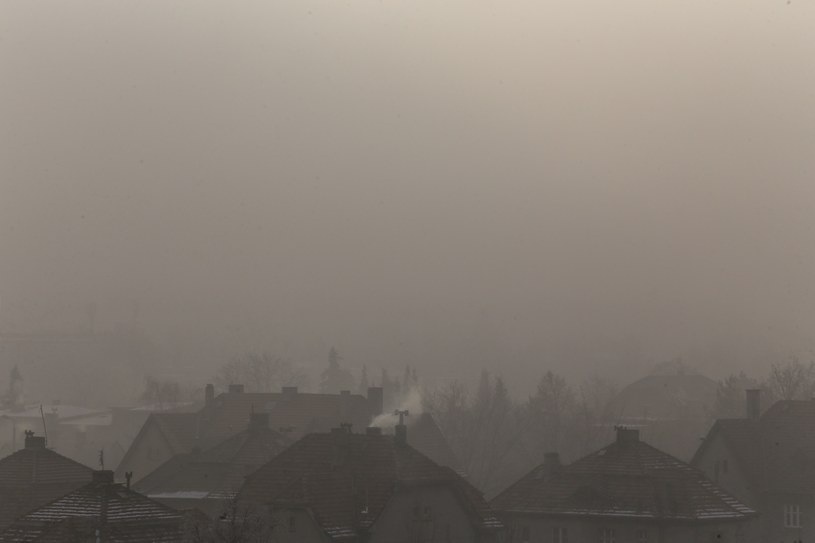 Smog w Rybniku /Dominik Gajda /Reporter