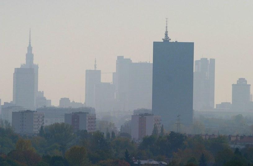 Smog w Warszawie /Wojciech Traczyk /East News