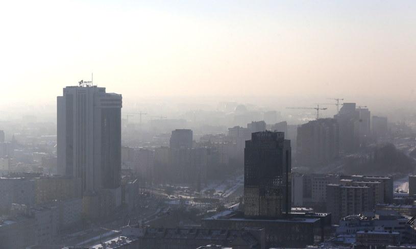 Smog w Warszawie /Tomasz Gzell /PAP